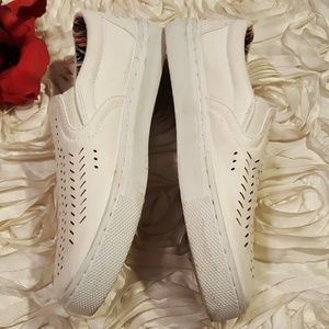 SAS Shoes - SAS Womens White Leather Loafers Sz 6